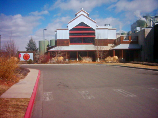 Brewery building for the New Belgium Brewing Company in Fort Collins, CO