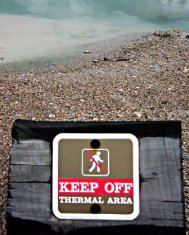 Sign:Keep Off - Thermal Area